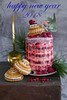 2018 happiness  and smile me (Patrizia Miceli - Via delle rose) Tags: happy new year 2018 red vevelt naked cream cheese lemon icing raspbarries enjoy everyone smile me