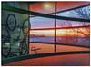 Last sunrise of this year 2017! (BigWhitePelican) Tags: helsinki finland morning sunrise bikes windows canoneos70d adobelightroom6 niktools 2017 december