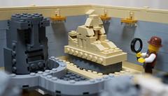 10214alternativebuildinterior3(f) (InyongLee) Tags: lego design moc modular legomodular legobuilding legoalternate legoalternative lego10214 legotowerbridge cornerbuilding legocornermodular cornermodular legomuseum legomoc 레고 レゴ legointerior interior museum artifacts artifact legoartifact sphinx legosphinx moai legomoai