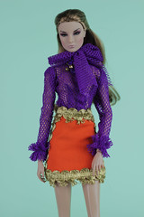 new outfits available (Regina&Galiana) Tags: fashionroyalty fashion doll barbie silkstone 12 inch integritytoys nu face poppy parker fr2 giselle eden lilith dress ooak outfit forsale