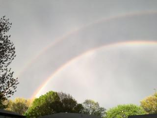 Double Rainbow 4/24/16 - 9