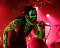 Punish Yourself (KristHelheim) Tags: punishyourself lamaroquinerie paris concert live gig music neon fluo punk metal