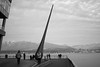 VancouverBigRainDrop (ArielImages) Tags: sonya9 35mmsonnarfe zeiss sony vancouver raindrop coalharbor bw melancholy streetphotography