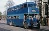 03-77 NWT496D Guy Arab V at Christ Church Doncaster (dubdee) Tags: blueline reliance doubledecker bus samuelmorganltd kyg299d stainforth armthorpe guyarabv charleshroe