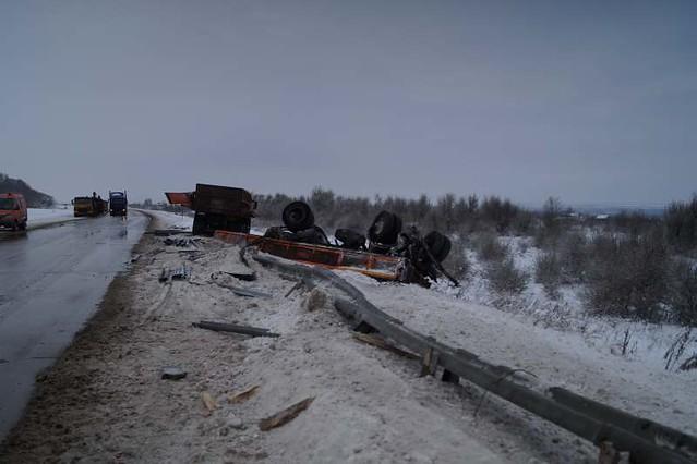ДТП под Сызранью: один шофёр умер