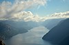 Lysefjord (suttree140782) Tags: norwegen norway scandinavia photography preikestolen outdoor nature natur lysefjord fjord morning clouds mountain nikon d5100