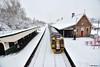 Newtown, Powys, Wales, UK (alanmoran91) Tags: snow nikond500 nikon d500 wales train station tokina 1224