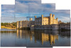 Leeds Castle Collage (AlistairBeavis) Tags: alistairbeavis alistairbeaviscom leedscastle kent castle uk reflection joiner collage photoshop sunny building 52weeks