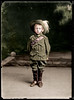 Young boy dressed in WW1 Australian Uniform - Coloured 2017 (Paper People Past) Tags: boy uniform australian ww1 soldier coloured color colorized emufeather tyrell maas museumofappliedartsandsciences paperpeople past child
