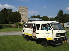 Photo of VW T3 Syncro Joker Disserth Wales