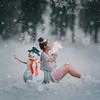522 (Katrina Yu) Tags: snowman manipulation art concept 2017 365project everydays snow winter christmas hot woman selfportrait