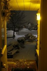 Early morning after the snow. (Gillian Floyd Photography) Tags: early morning snow street tree car