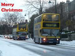 Happy Christmas 2017 (Csalem's Lot) Tags: 18 39a vt64 av322 waterlooroad snow christmas enviro500 alx400 volvo av vt dublin dublinbus bus