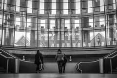 Station. #InspiracionBdF40 (A.Ayuso) Tags: blackwhite candid candy españa madrid strasenfotografie street streetphotography backside blanconegro callejeros fotografiadistrada photographiederue rue strasse urbana