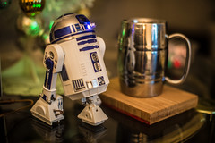 Cup is for Scale (misterperturbed) Tags: r2d2 sphero starwars
