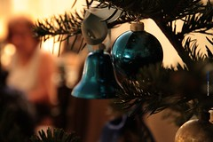 Missing you at Christmas.. (Maria Michalinos-www.debop.gr/deBlog/the-athenians) Tags: christmas tree dof ornament blue love family mother miss ilobsterit