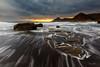 Playa del Lastre. (Juan Galián) Tags: paisaje playa puestadesol landscape largaexposición longexposure litoral largaexposicióndiurna agua atardecer water murcia mar mediterráneo sea costa coast canon60d tokina