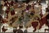 Hojas (seguicollar) Tags: imagencreativa photomanipulación art arte artecreativo artedigital virginiaseguí ramas hojas leaf leaves arce marrón abstracto planta vegetal otoño plantas texturas