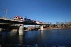 Calgary Transit (davebloggs007) Tags: ctrain calgary transit bow river alberta canada