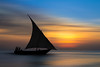 Sunset Dhow (djarrfotografie) Tags: zanzibar art travel water dhow boat background decoration sea