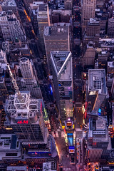 Crossroads (Andrew Thomas 73) Tags: newyork timessquare aerial flynyon nikond810 manhattan