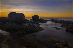 Antes del amanecer. (antoniocamero21) Tags: paisaje color foto sony marina amanecer calella girona catalunya