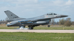 Lockheed Martin F-16AM (Angle-of-Attack) Tags: 2015 frisianflag aircraft airplane aviation exercise jet lockheed martin f16am royal netherlands af klu j062 leeuwarden 6d145 322 squadron sqn