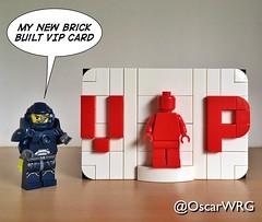 #LEGO_Galaxy_Patrol #LEGO #BrickBuilt #VIP #Card #VIPcard #LEGOvip (@OscarWRG) Tags: legogalaxypatrol lego brickbuilt vip card vipcard legovip