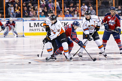 "Kansas City Mavericks vs. Kalamazoo Wings, January 5, 2018, Silverstein Eye Centers Arena, Independence, Missouri.  Photo: © John Howe / Howe Creative Photography, all rights reserved 2018. • <a style=""font-size:0.8em;"" href=""http://www.flickr.com/photos/134016632@N02/38681946395/"" target=""_blank"">View on Flickr</a>"
