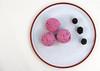 blackberry icecream (RebeckaEA) Tags: acmilan milan 1899 redblack rossoneri cake cookie calcio red black pastry seriea football blackberry icrecream