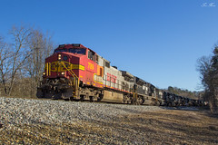 NS 322 at Braswell Rd (travisnewman100) Tags: norfolk southern train railroad freight manifest ge c449w sd70m2 sd70ace sd60 emd 322 braswell rockrmart georgia division atlanta north district