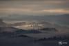 Wil - Bazenheid (AH-Phototiv) Tags: wil sg st gallen schweiz switzerland fog nebl cloudy cloud wolkig wolken morgen sonne sonnenstrahl light leak streak burst landscape landschaft