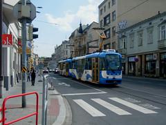 Ostrava tram No. 1351. (johnzebedee) Tags: transport publictransport vehicle ostrava czechrepublic johnzebedee tatra