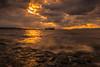 sunset 2823 (junjiaoyama) Tags: japan sunset sky light cloud weather landscape orange contrast color bright lake island water nature fall autumn wave