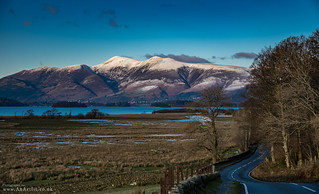 Skiddaw and the Borrowdale Road