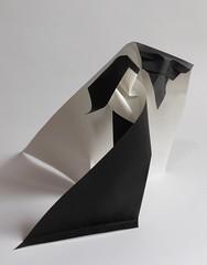 La Belle et la Bête / Beauty and the Beast de Viviane Berty 2017 (Viviane des Papiers) Tags: vivianeberty labelleetlabête origami beautyandthebeast origamicdo2017