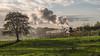 ELR-No9-30 (Dreaming of Steam) Tags: 60009 a4 br britishrailways elr eastlancsrailway gresley gresleysteamengine heritage heritagerailways no926 railway steam steamengine streak streamlined train unionofsouthafrica vintage engine locomotive pacific railroad smoke steamlocomotive