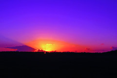 Fragile (PokemonaDeChroma) Tags: sunset rays fragile france senja aube silhouette siluet champs sawah sinar