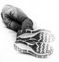 My visible sole (Peter Branger) Tags: activeassignmentweekly unconventionalportrait portrait unconventional blackwhite shoes bestofweek1 bestofweek2 bestofweek3