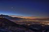 Early morning at Eagle Crest (jpstanley) Tags: suncrest utah winter inversion hdr