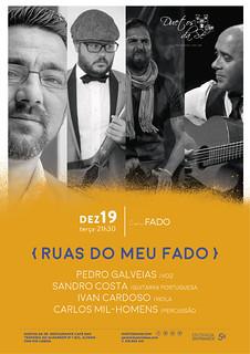 CONCERTO IN FADO - Duetos da Sé - Alfama Lisboa - TERÇA-FEIRA 19 DEZEMBRO 2017 - 21h30 - RUAS DO MEU FADO - Pedro Galveias - amigos