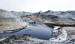Grenlækur í Landbroti (skolavellir12) Tags: grenlækur iceland river vann winter suðurland