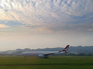Cathay Dragon @ Penang International Airport