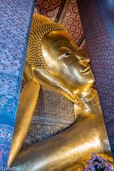 Reclining Buddha at Wat Pho - Bangkok, Thailand (patuffel) Tags: reclining buddha wat pho bangkok thailand statue in explore