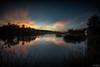 Aitken Sunset DSC_2419 (BlueberryAsh) Tags: craigieburn lake sunset aitkencreek retardationbasin wetland cloudsstormssunsetssunrises water nikond750 nikon1635 longexposure leefilter housingdevelopment localwetland birdhabitat birdhide melbourne