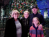 in front of the tree at the One World  Trade Center (aka The Freedom Tower) (Web-Betty) Tags: meshegne nana thebear thegoose family christmas holiday tree oneworldtradecenter freedomtower