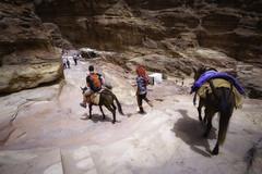 Camino del Monasterio (MigueR) Tags: jordania petra elmonasterio fuji xt1