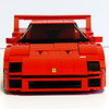 Ferrari F40 (*hannes*) Tags: lego ferrarif40 set10248