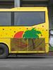 Ersatz Exotica (Goran Patlejch) Tags: bus palm sun yellow tourism prague travel tourists exotic exotica summer tourbus