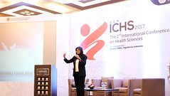 Lalitya Paramita leads the national anthem (International Conference on Health Sciences) Tags: international health sciences ichs 2017 yogyakarta indonesia eastparc universitas gadjah mada bpp ugm badan penerbit publikasi medicine medical research researcher speaker emerging reemerging infectious disease tropical neglected sexually transmitted drug resistance technology clinical presentation conference annual ichs2017